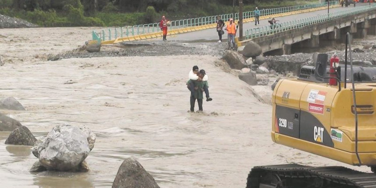 Los ciclones tropicales son uno de los fenómenos que más desastres causan en el país. Foto:Fuente externa