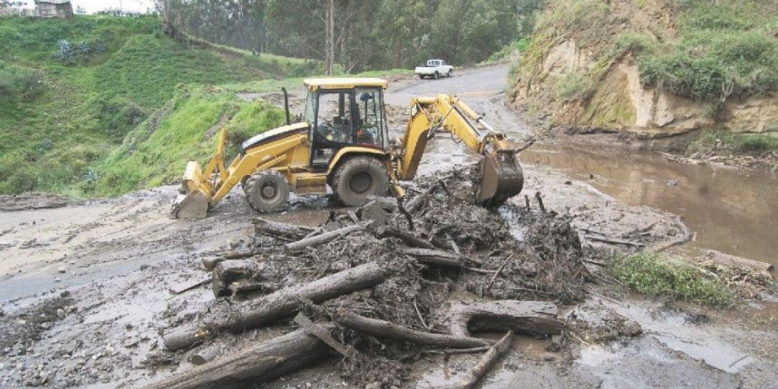 Los desastres se dan en la combinación de eventos naturales, características del suelo y actividades humanas. Foto:Fuente externa