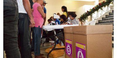 Los peledeístas eligieron ayer sus candidatos al Congreso y los ayuntamientos./Mario de Peña