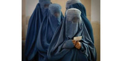 Mujeres usando burka. / GETTY