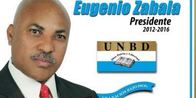 Eugenio Zabala / Partido Unión Demócrata Cristiana Foto:Fuiente externa