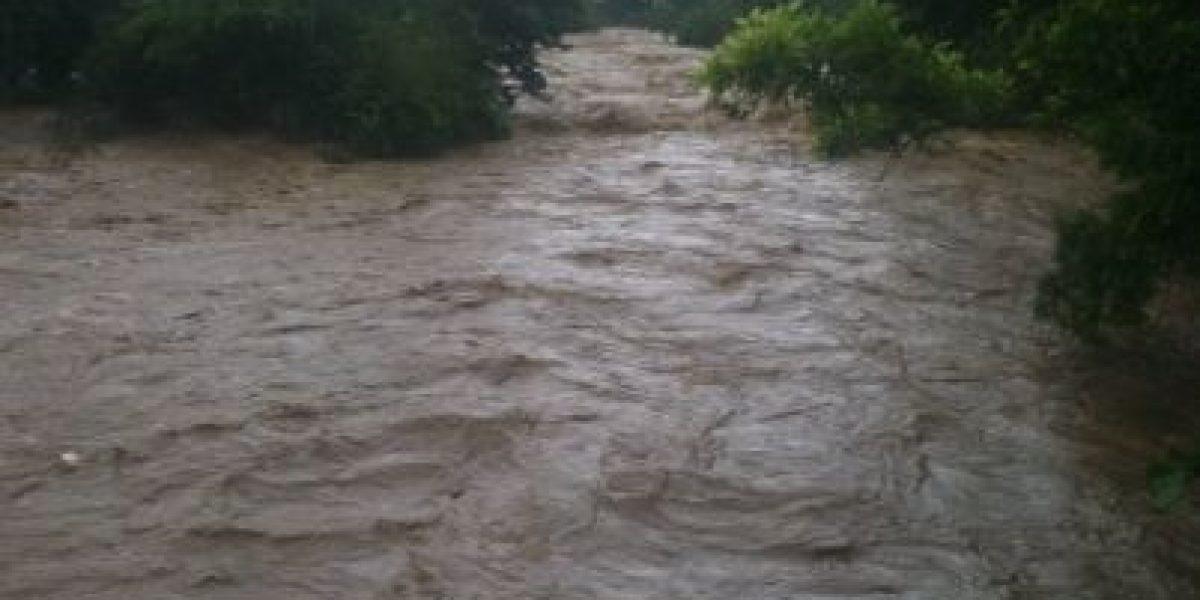 Se desborda el Río Jimenoa en Jarabacoa