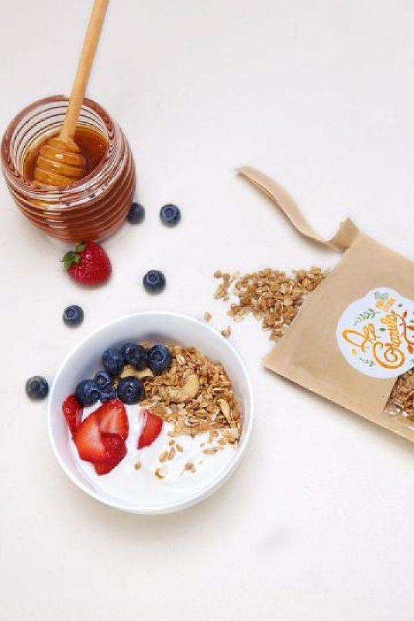 La granola es ideal para desayunar Foto:Fuente Externa