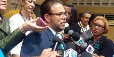 Guillermo Moreno en declaraciones a la prensa. Foto:Fuente Externa