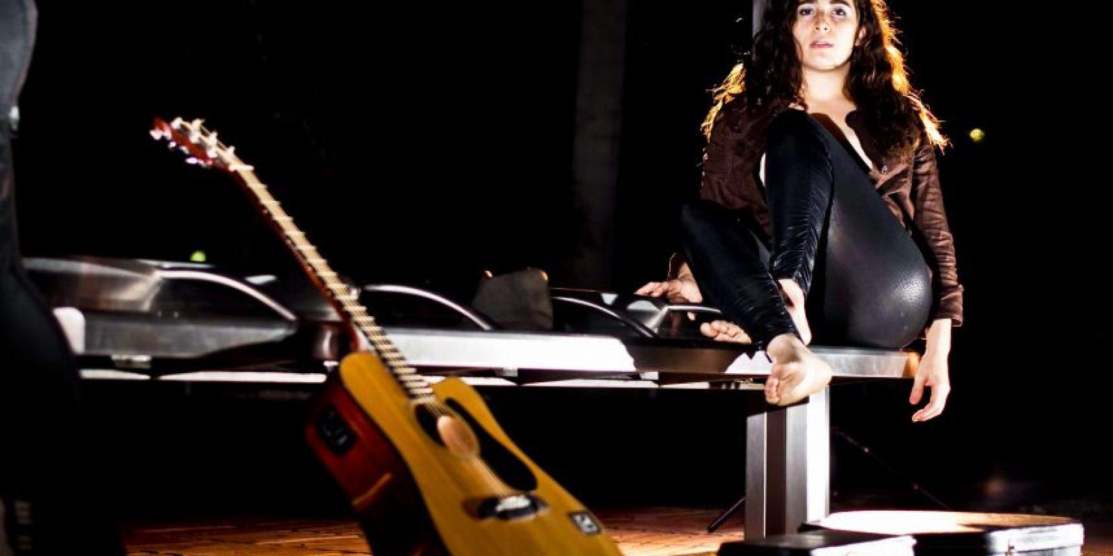 No te la pierdas hoy, en su participación en Los Premios Luna de Colombia. Foto:Fuente Externa.