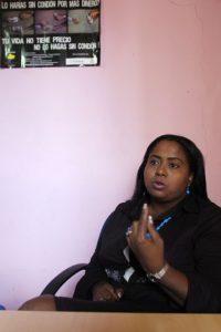 Jaqueline Montero dice que luchará a favor de las mujeres tan pronto llegue al Congreso. Foto:Roberto Guzmán
