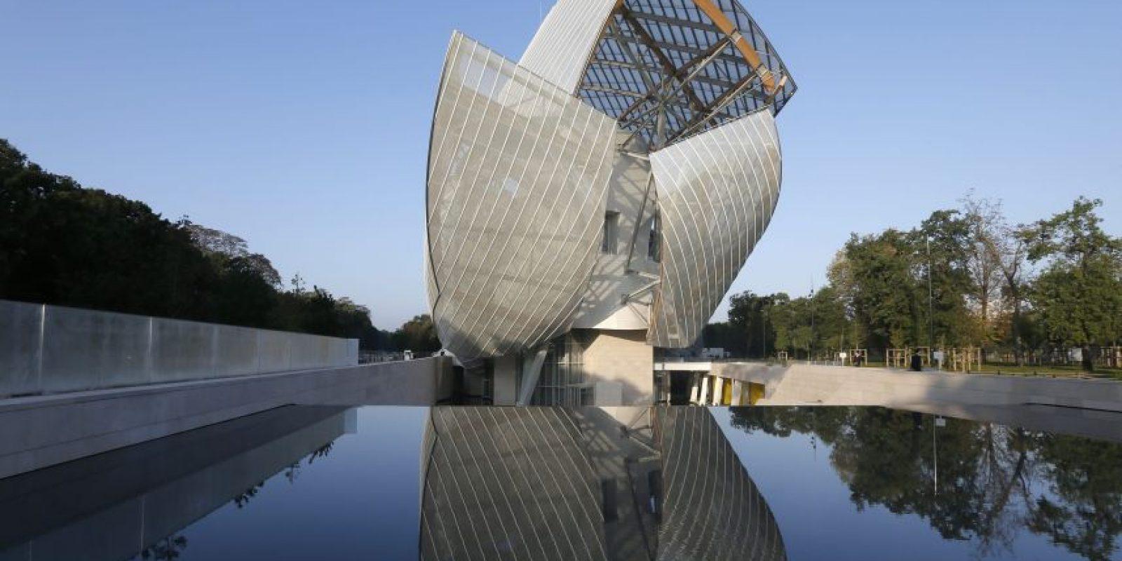 Maylé se inspiró en el edificio de Fundación Louis Vuitton.