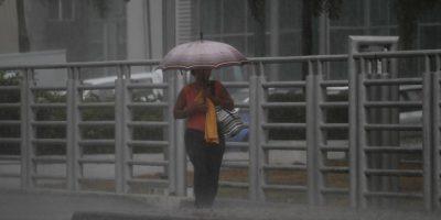 Onamet prevé que habrá más aguaceros en la tarde y la noche Foto:Roberto guzmán