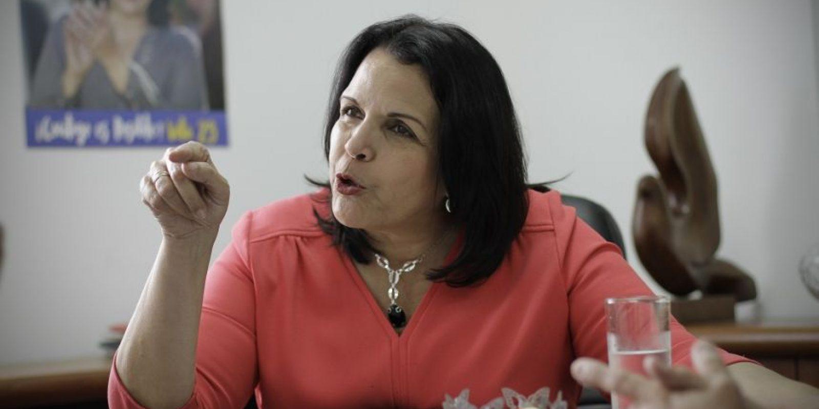 Minou Tavárez Mirabal Foto:Roberto Guzmán