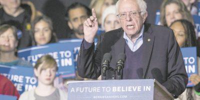 Bernie Sanders Foto:EFE