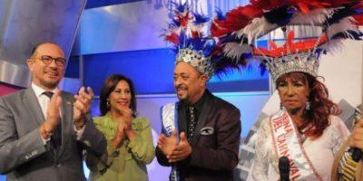 Michael Miguel y Fefita La Grande coronados rey y reina del Carnaval