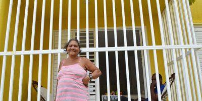 Residentes de La Nueva Barquita, llenos de alegría