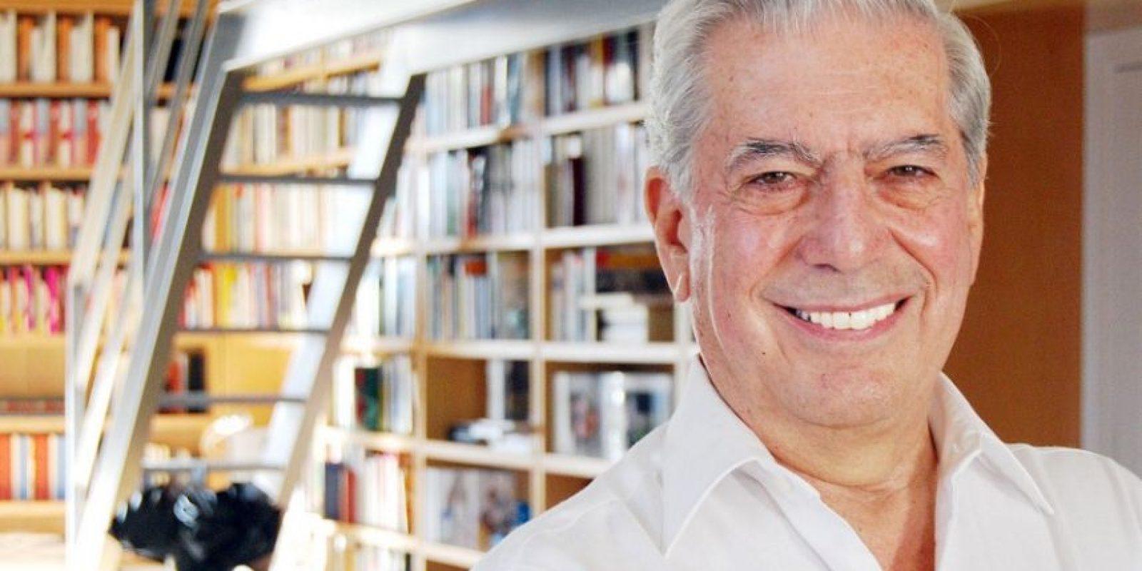 Mario Vargas Llosa. Escritor Foto:Fuente externa