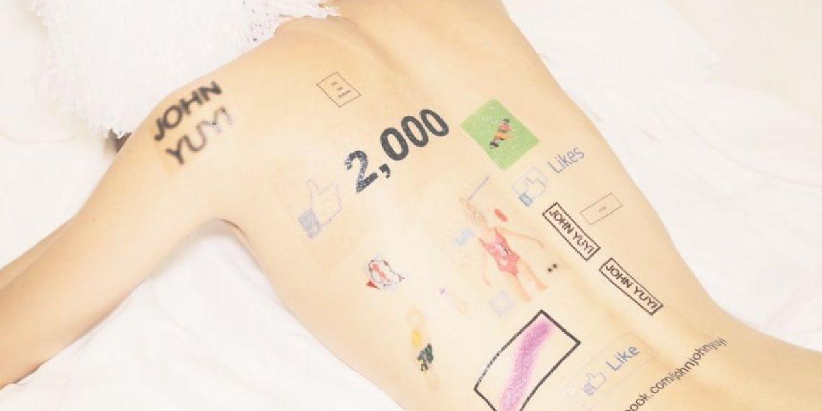 Redes sociales en la piel