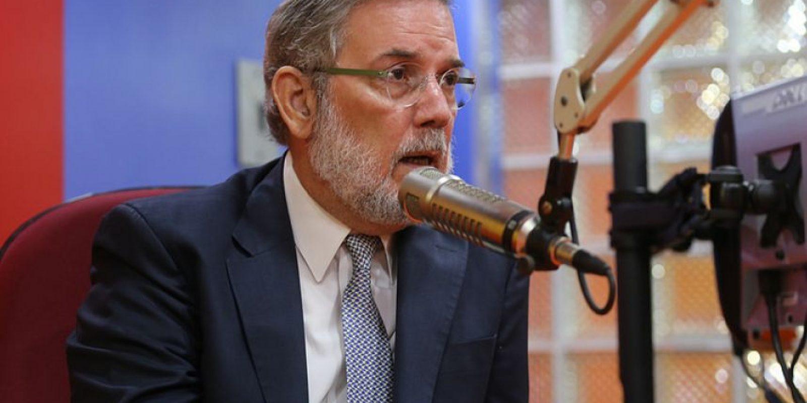 Portavoz del Gobierno, Roberto Rodríguez Marchena Foto:PresidenciaRD