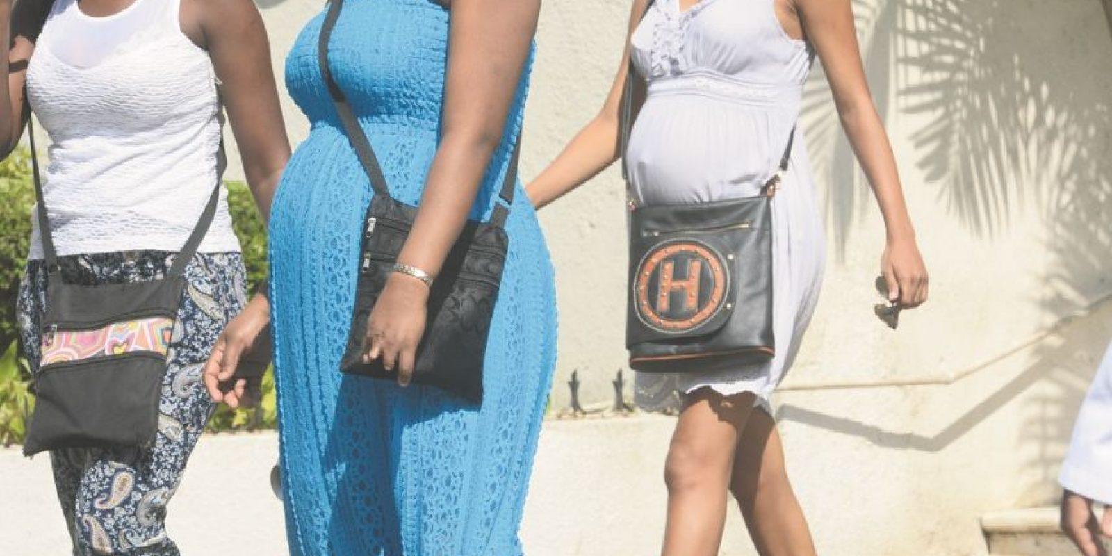 En República Dominicana hay un 21.20 % de madres menores de edad. Un 41.10 % pertenece a la clase pobre y 4.70 % se ubica en el quintil de los más ricos. Foto:cortesía