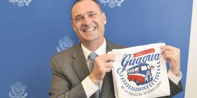 Chase Beamer, Consejero para Asuntos Públicos de la Embajada EE.UU. Foto:Mario de Peña