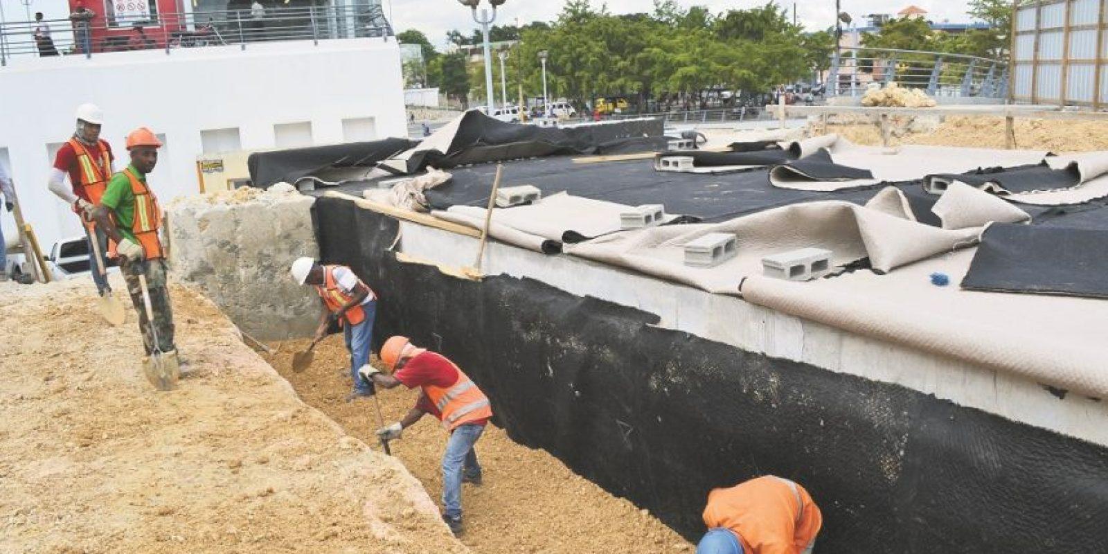 Construcción de túnel que comunicará la línea dos del Metro con el teleférico. Foto:MARIO DE PEÑA