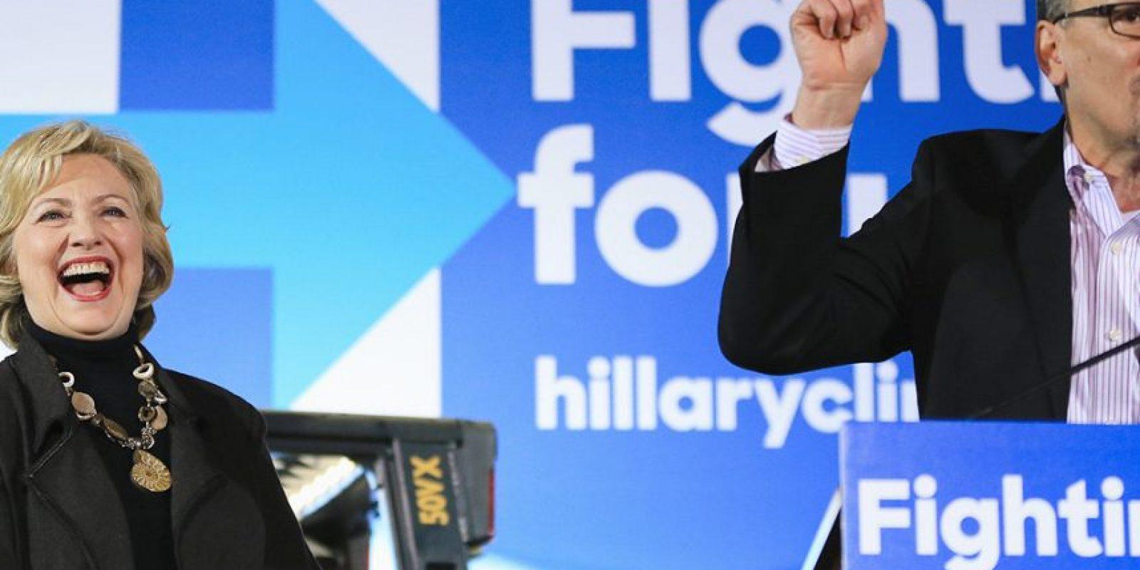 Hillary Clinton junto a Thomas Pérez Foto:Fuente Externa