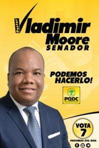 José Hilario Vladimir Moore R. / Partido Quisqueyano Demócrata Cristiano Foto:Fuiente externa