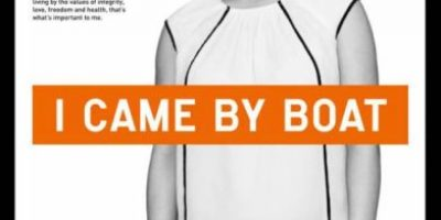 """""""Llegué en bote"""", la campaña que busca cambiar la imagen de los refugiados"""