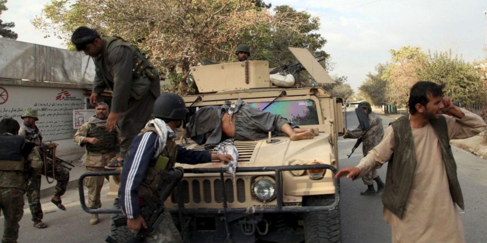 """Los médicos han señalado al ataque en Kunduz como un posible """"crimen de guerra"""". Foto:AP"""
