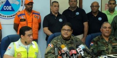 COE mantiene diez provincias en alerta