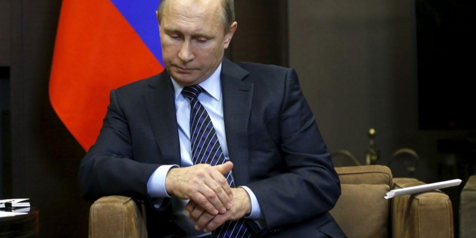 """Tras el ataque, Vladimir Putin lo calificó como """"una puñalada en la espalda"""" Foto:AP"""