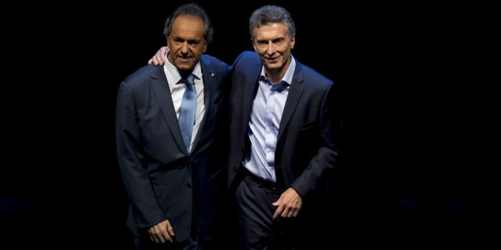 Ambos candidatos realizaron el pasado 15 de noviembre un debate público Foto:AP