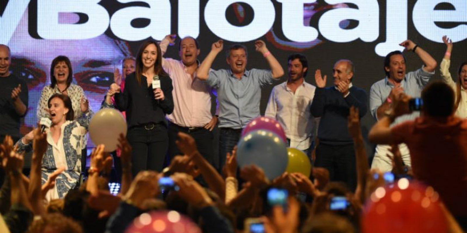 Es la primera vez que Argentina celebra comicios presidenciales en segunda vuelta. Foto:AFP