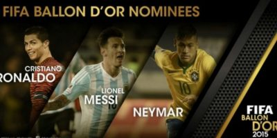 Ellos son los tres finalistas para ganar el Balón de Oro 2015