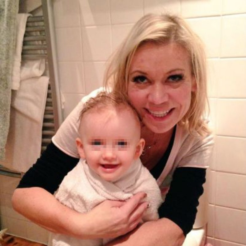 También enfrentó problemas de presión arterial alta, sin embargo, y pese a todos los pronósticos negativos de la ciencia, Tina pudo tener a esta bebé. Foto:Vía Twitter/@TinaMalone