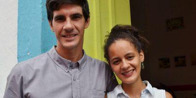 José Miguel Paliza y Laura Bogaert, fundadores de Zona Bici. Foto:Mario de Peña