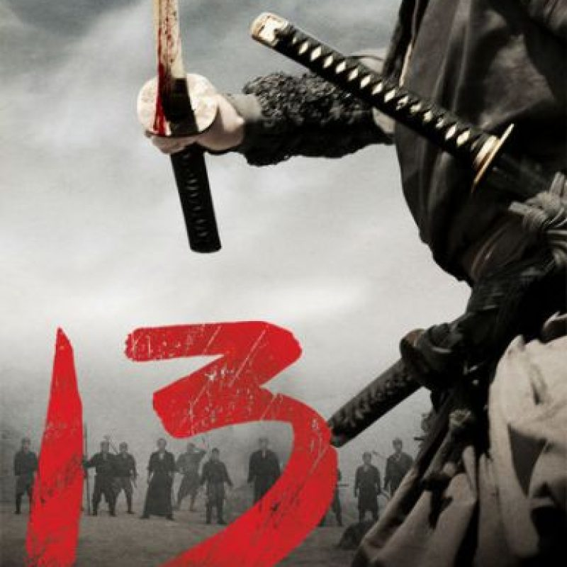 """13 Assassins"". Ya disponible. Foto: vía Netflix"