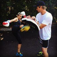 Además de llevar una buena relación, Pataky y Hemsworth son compañeros de entrenamiento. Foto:vía instagram.com/elsapatakyconfidential