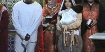 O el día en que fue bautizada en Jerusalén Foto:The Grosby Group