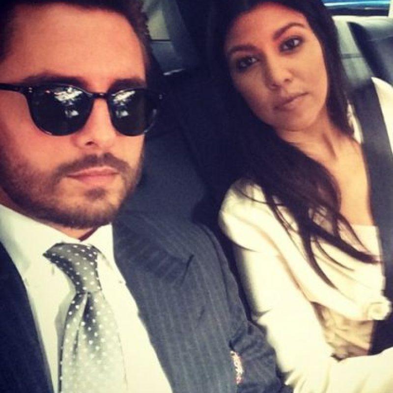 Parece que la pareja se dio una nueva oportunidad. Foto:vía instagram.com/kourtneykardashian