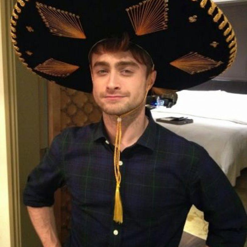 """En una entrevista con la revista """"Playboy"""", confesó que se masturbaba en el set de """"Harry Potter"""". Foto:vía plus.google.com/+DanielRadcliffe"""