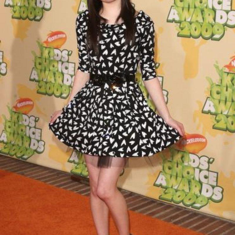 """En 2007, Miranda Cosgrove protagonizó la serie """"iCarly"""" Foto:Getty Images"""
