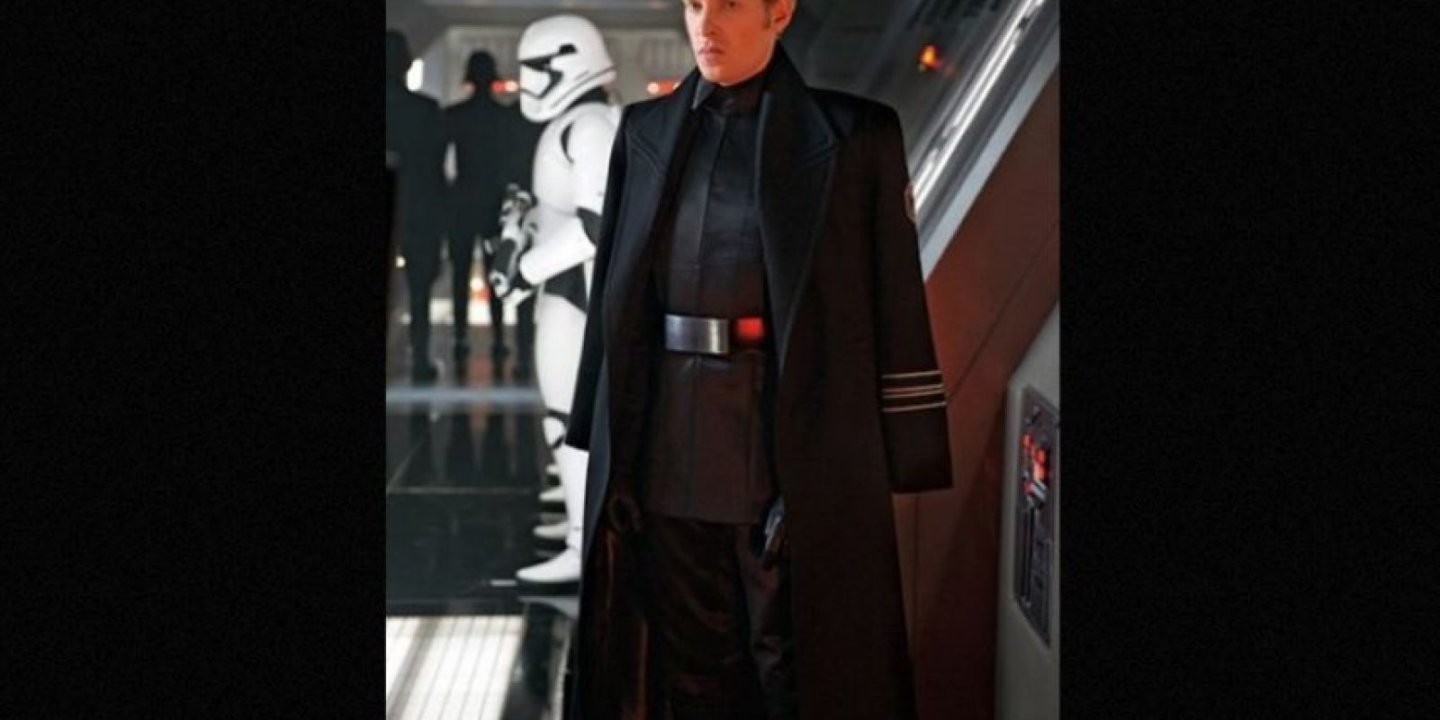 """General Hux"" interpretado por Domhnall Gleeson, es el líder de ""The First Order"" Foto: Revista ""Entertainment Weekly"""