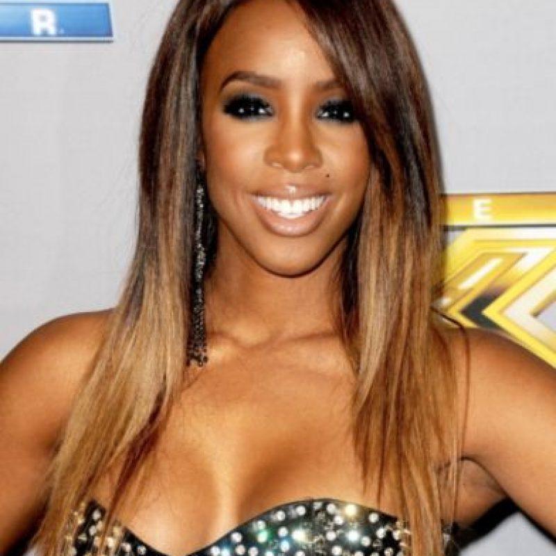 Kelly Rowland, la exintegrante de Destiny's Child Foto:Getty Images