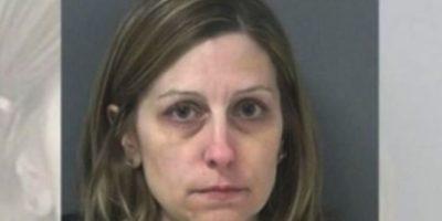 Michelle Ladd, de 41 años. Le regaló autos, armas y alcohol a sus alumnos Foto:Miami County Sheriff's Office