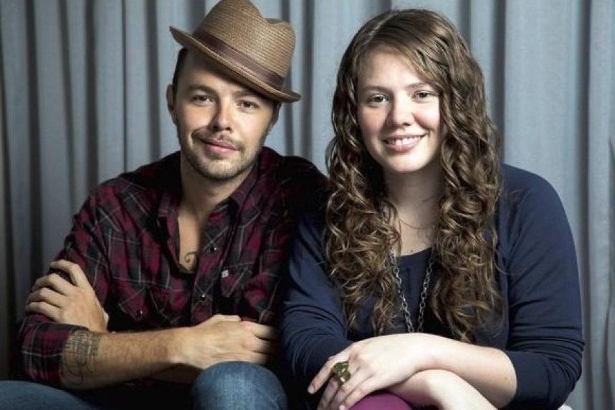 "A Joey Huerta del dueto mexicano ""Jesse & Joey"" Foto:Vía twitter.com/jesseyandjoey"