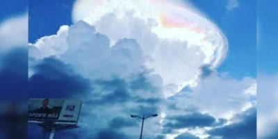 6. Extraña nube vista en Costa Rica Foto:Instagram @roupolimama