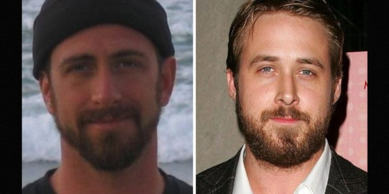 Igual a Ryan Gosling Foto: Reddit/Getty