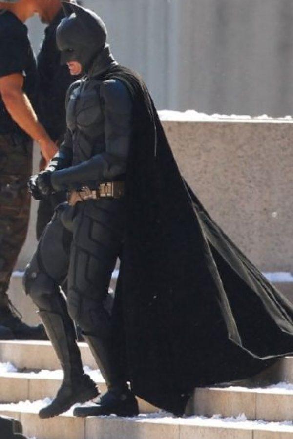 """El actor ganó gran musculatura para interpretar a """"Batman"""" Foto:IMDB"""
