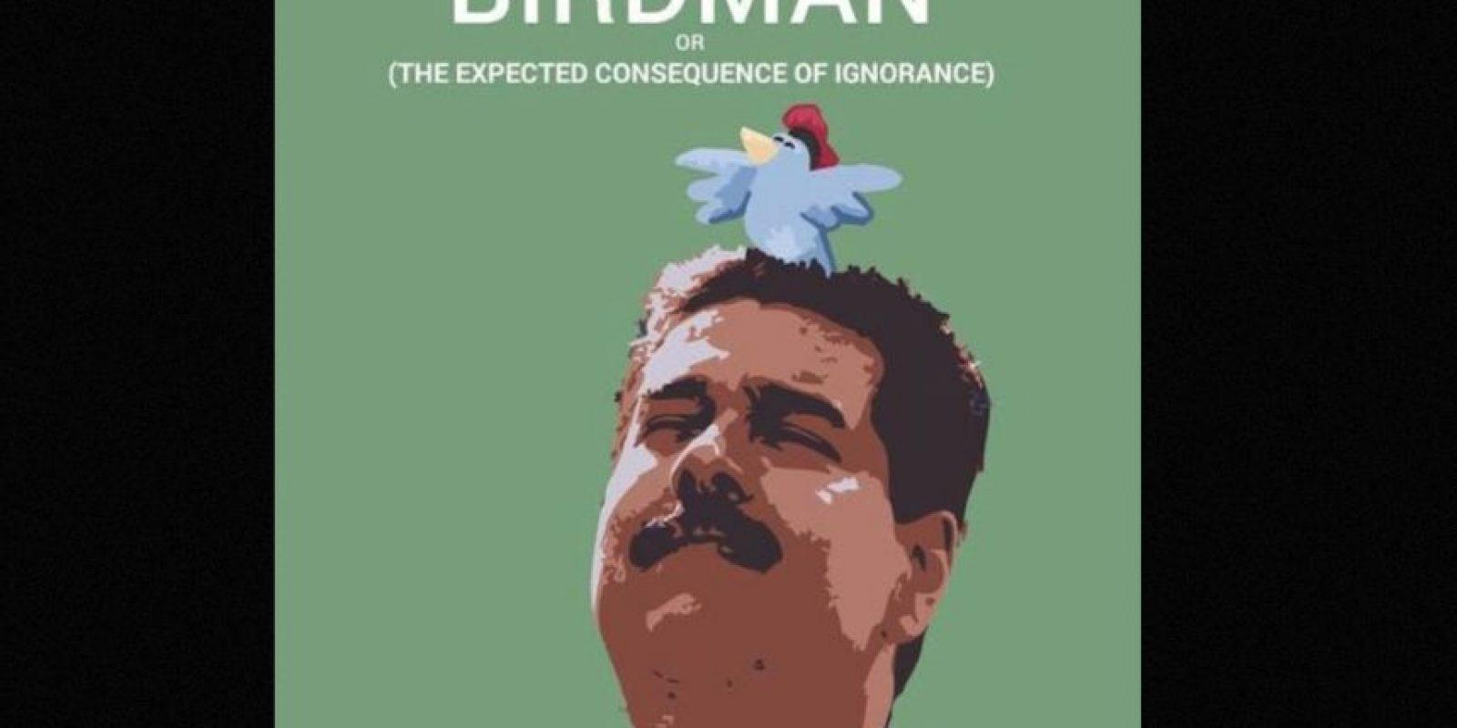 """Poco después de que el expresidente Hugo Chávez murió, Maduro aseguró haber sentido su presencia """"en un pajarito"""" Foto:Twitter.com – Archivo"""