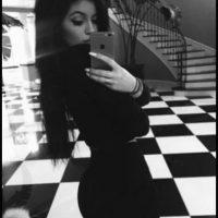 Kylie Jenner: la joven de 17 años anunció su llegada a Snapchat por medio de su cuenta en Instagram. Foto:Vía celebsnapchats.com