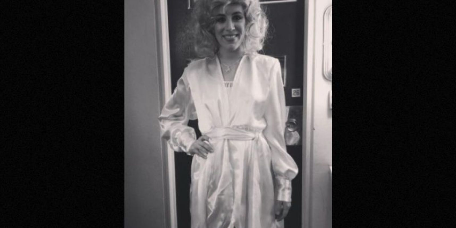 Esquivel en la piel de Aguilera Foto:Instagram/laura_esquivel