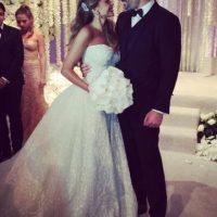 Sofía Vergara y Joe Manganiello se casaron el pasado 22 de noviembre Foto:Instagram/sofiavergara